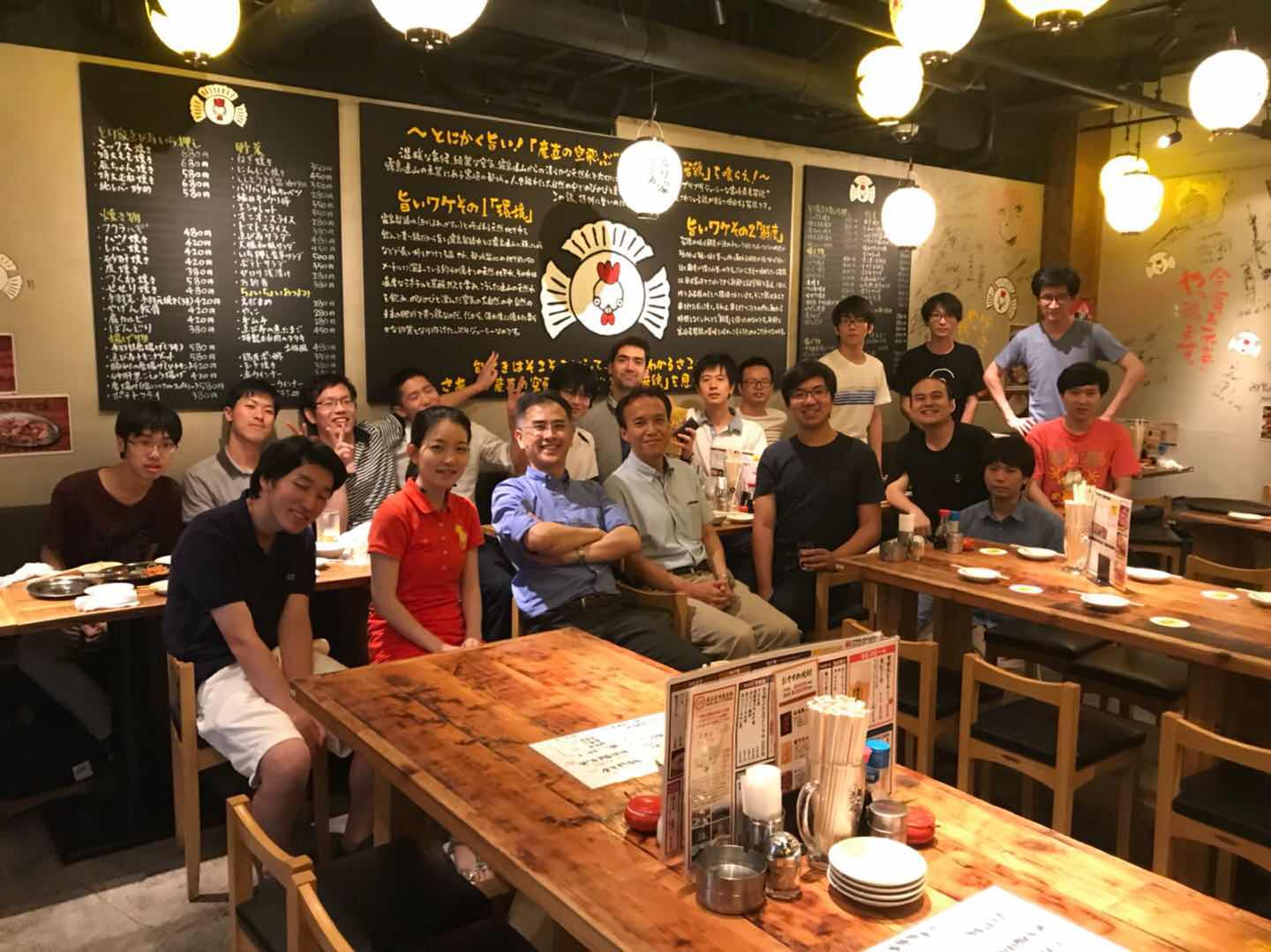Farewell Party of Our freshly graduated Ph.D. – Goran-san